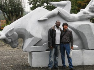 JJ 's sculpture(Burma) 2011