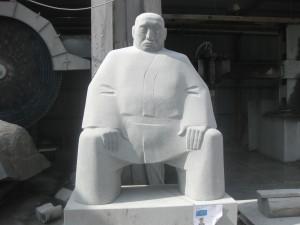 Edwin (Ghana)    Sculpture of a Marshal arts master